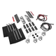 Black Saddlebag Mounting Hardware/Latch/Lock Kit - HW131371-BL