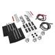 Chrome Saddlebag Mounting Hardware/Latch/Lock Kit - HW131373-CR