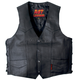 Leather Vest w/2 Conceal Carry Pockets