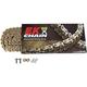 Gold 520MVXZ2 Chain - 520MVXZ2-120/G