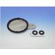 Black Round Sport Style Tax Disc/License Holder - 86-28811