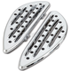 Chrome Deep Cut Driver Floorboards - I-1360