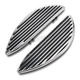 Chrome Retro Driver Floorboards - I-1362