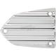 Chrome 10-Gauge Master Cylinder Cover - V-1364