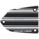 Black 10-Gauge Master Cylinder Cover - V-1365