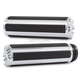 Chrome 10-Gauge Comfort Grips - I-5000