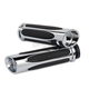 Chrome Deep Cut Comfort Grips - I-5001