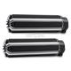 Black 10-Gauge Comfort Grips - I-5010