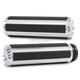 Chrome 10-Gauge Comfort Grips - V-5000