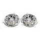 Chrome 10-Gauge Forged Billet Speaker Grills - 03-905