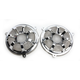 Chrome Beveled Forged Billet Speaker Grills - 03-909