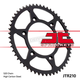 High Carbon 520 43 Tooth Steel Rear Sprocket - JTR210.43