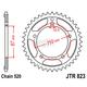 High Carbon 520 45 Tooth Steel Rear Sprocket - JTR823.45
