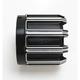 Black 10-Gauge Exhaust Tip for Vance & Hines Slip-on Mufflers - 05-985