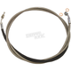 XR Polished Stainless Hydraulic Clutch Line - SSC0104-80