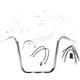 Sterling Chromite II Caliber Handlebar Installation Kit W/ 14 in. Ape Hanger Bars ABS - 38826-114