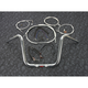 Sterling Chromite II Caliber Handlebar Installation Kit W/ 12 in. Ape Hanger Bars - 38827-112