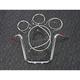 Sterling Chromite II Caliber Handlebar Installation Kit W/ 14 in. Ape Hanger Bars - 38827-114