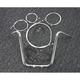 Sterling Chromite II Caliber Handlebar Installation Kit W/ 16 in. Ape Hanger Bars - 38827-116
