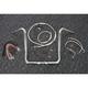 Sterling Chromite II Caliber Handlebar Installation Kit W/ 16 in. Bagger Bars - 38830-216