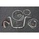 Sterling Chromite II Caliber Handlebar Installation Kit W/ 12 in. Ape Hanger Bars - 38831-112