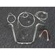 Sterling Chromite II Caliber Handlebar Installation Kit W/ 14 in. Ape Hanger Bars ABS - 38831-114