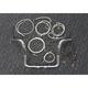 Sterling Chromite II Caliber Handlebar Installation Kit W/ 12 in. Bagger Bars - 38834-212