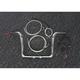 Sterling Chromite II Caliber Handlebar Installation Kit W/ 12 in. Bagger Bars ABS - 38835-212