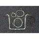 Sterling Chromite II Caliber Handlebar Installation Kit W/ 14 in. Bagger Bars - 38835-214