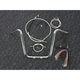 Sterling Chromite II Caliber Handlebar Installation Kit W/ 14 in. Ape Hanger Bars ABS - 38836-114