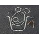 Sterling Chromite II Caliber Handlebar Installation Kit W/ 14 in. Ape Hanger Bars - 38844-114