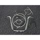 Sterling Chromite II Caliber Handlebar Installation Kit W/ 14  in. Ape Hanger Bars - 38847-114