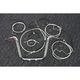 Sterling Chromite II Caliber Handlebar Installation Kit W/ 12 in. Ape Hanger Bars - 38848-112