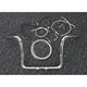 Sterling Chromite II Caliber Handlebar Installation Kit W/ 12 in. Bagger Bars Non-ABS - 38868-212