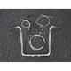 Sterling Chromite II Caliber Handlebar Installation Kit W/ 16 in. Bagger Bars - 38868-216