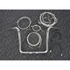 Sterling Chromite II Caliber Handlebar Installation Kit W/ 14 in. Bagger Bars - 38869-214