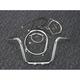 Sterling Chromite II Caliber Handlebar Installation Kit W/ 12 in. Ape Hanger Bars - 38871-112