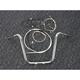 Sterling Chromite II Caliber Handlebar Installation Kit W/ 14 in. Ape Hanger Bars Non-ABS - 38871-114