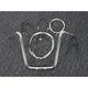Sterling Chromite II Caliber Handlebar Installation Kit W/ 16 in. Ape Hanger Bars - 38877-116
