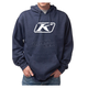 Blue Icon Pullover Hoody