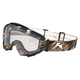 Scarred Ash Radius Moto Goggles w/Clear Lens - 3049-000-400-000