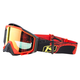 Rattler Red Radius Pro Moto Goggles w/Red Mirror Lens - 3059-000-000-001