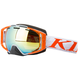 Frac Gray Oculus Snow Goggles w/Bronze Gold Mirror Lens - 3240-000-000-001