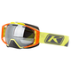 Slice Lime Oculus Snow Goggles w/Smoke Silver Mirror Lens - 3240-000-000-003