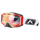 Slice White Oculus Snow Goggles w/Smoke Red Mirror Lens - 3240-000-000-004