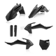 Black Full Replacement Plastic Kit - 2449600001