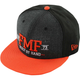 Black/Charcoal/Orange District Hat - SP6196100ORGONZ