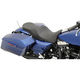 Double Diamond Stitch Forward-Positioning Low Profile Touring Seats /w EZ Glide II Backrest - 0801-1011