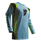 Powder Blue/Lime Pulse Air Profile Jersey