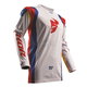 White/Multi Pulse Air Profile Jersey
